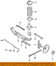 FORD OEM Rear Suspension-Coil Spring FOCZ5560B