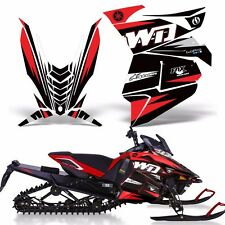 Decal Wrap Graphic Kit Yamaha SR Viper RTX STX MTX Part Sled Snowmobile 14-16 WD