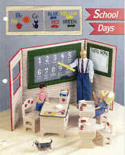 School Days   ~  Fashion Doll, Plastic Canvas Pattern ~  Annie's