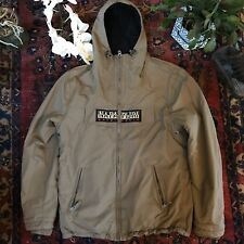 Napapijri Men's fleece lined Jacket Size Small