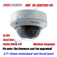 Hikvision DS-2CD2755F-IZS 5MP Motorized 2.7~12mm Vari-focal Dome Network Camera