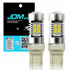 JDM ASTAR 2x PX-SMD 7443 7440 White LED Turn Signal Backup Reverse Light Bulbs