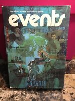 Vintage 1974 EVENTS Game The What,Where And Why Game By Minnesota Mining & Mfg.