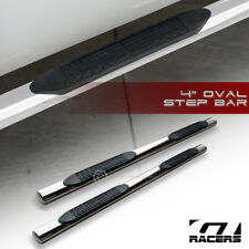 "For 2009-2014 Ram 1500 Quad Cab 4"" Chrome Side Step Nerf Bars Rail Running Board"