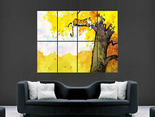 CALVIN AND HOBBES KIDS POSTER COMIC BOOK ART PICTURE PRINT LARGE  HUGE