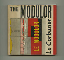 1954 Le Corbusier THE MODULOR Human Scale Measure Design Modern Architecture Bk