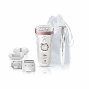 Braun Silk-épil 9 9-890 Facial Hair Removal Bikini Trimmer Shaver Wet & Dry