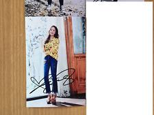Park Min Young KPOP Korean Actress 4x6 Photo Autograph hand signed USA Seller A4