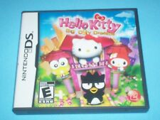 HELLO KITTY BIG CITY DREAMS (NINTENDO DS, 2008) CLEANED & TESTED