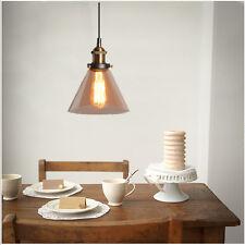 Smoked Glass Lighting Hotel Modern Pendant Light Kitchen Ceiling Lamp Home Light