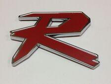 3D TYPE R JDM LOGO RED BADGE ABS EMBLEM CAR AUTO JEEP 4X4  E-1511PR