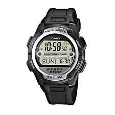 Casio Resin Case Men's Round Wristwatches