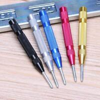 Mini Automatic Center Punch Steel Spring Loaded Marking Starting Holes Pin Tool