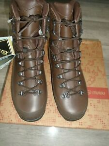 ITURRI MENS COLD WET WEATHER BOOTS SIZE 8L WIDE WIDTH FITTING BRITISH ARMY NEW
