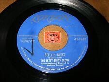 THE BETTY SMITH GROUP - BETTY'S BLUES - MY FOOLISH HEART   / LISTEN - JAZZ