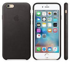 100% Genuine Apple iPhone 6S PLUS / 6 PLUS Slim Leather Case Cover - Black