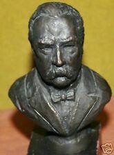 President Grover Cleveland Bronze Statue Franklin Mint Presidential Bust