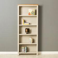 Mullion Painted Large Bookcase / Large Bookcase & Oak Top / Adjustable Shelves