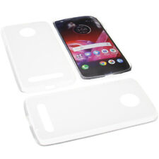Tasche für Lenovo / Motorola Moto Z2 Force Schutz Hülle TPU Gummi Transparent