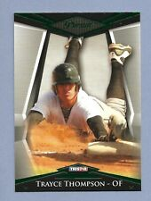 TRAYCE THOMPSON 2011 Tristar Pursuit Green Parallel SER # /25
