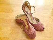 Mary jane rosa antico, tacco a spillo - High Heels used shoes