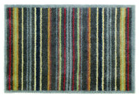 Turtle Mat - Dirt Trapper - Graphic Stripe - Multi-Grip - 60x85cm