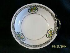 Vintage Noritake White Porcelain w/ Black Handled Soup Bowl