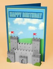 A4 Card Making Templates for 3D Knight's Castle Embellishment by Card Carousel