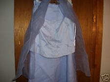 2 PC FORMAL EVENING GOWN OR BRIDESMAID DRESS NEW 12