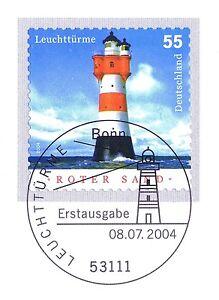 BRD 2004: Leuchtturm Roter Sand! Selbstklebende Nr 2413! Bonn-Stempel! 1A! 21-09