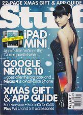 STUFF #166 UK JAN 2013, iPAD MINI, GOOGLE NEXUS 10, XMAS GIFT & APP GUIDE.