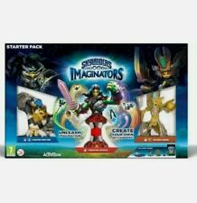 Nintendo Wii U Skylanders IMAGINATORS Starter Pack NO BOX 2 games extra figures