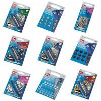 Full Range of Prym Snap Press Fasteners, Poppers. Press Studs. Sew & Non Sew