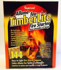 144 Pack Fire Starter Squares - Big Green Egg Kamado Bbq Smoker Grill Food Safe