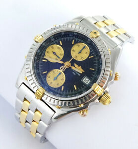 Breitling Chronomat Automatik Herrenuhr Stahl/Gold Ref. B13048 BOX