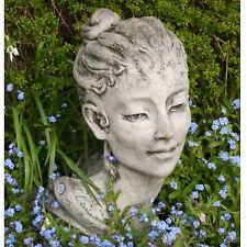 Büste Skulptur Frauenkopf Tiffany Pheeberts by Fiona Scott Steinguss Vidroflor