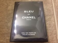 New Blue De Chanel Eau De Perfume Pour Home Men 3.4oz (100ml) Box