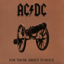 AC/DC For Those About To Rock 180g GATEFOLD Columbia ACDC New Sealed Vinyl LP