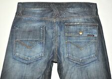 "Energie Kirk Worn Out & D-Stressed Jeans Actual Measurements W31"" L29.5"" AWESOME"