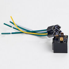 DC Car Vehicle 12V Volt 40A Transparent Relay & Socket SPDT 5Pin 5Wire