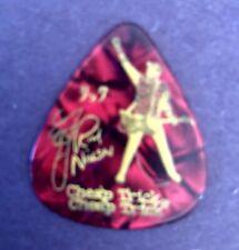 Rick Nielsen Guitar Pick Cheap Trick custom pick Red Marble