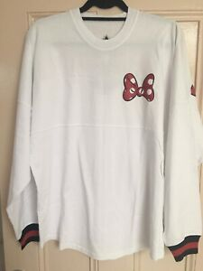 Disney Minnie Mouse Spirit Jersey Small Womens Ladies Official Disney Parks WDW
