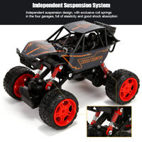 Kids RC Monster Truck 1/16 Off-Road Vehicle Remote Control Rally Cars