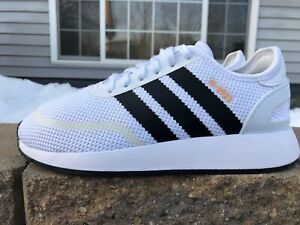 Adidas N-5923 White/Black Stripes Women's Size 7.5 Youth Size 5.5