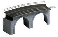 FALLER 120478 Viaduc Pont courbé Rayon 360mm Longueur 188mm Haut 65mm