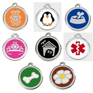 DOG / CAT TAGS - FULLY ENGRAVED TO YOUR WORDING WITH LIFETIME GUARANTEE