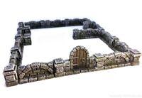 Mansion stone walls - D&D, Mordheim, dungeon terrain, dungeon decor