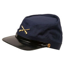 American Civil War North Union Blue Infantry Reenactment Kepi Replica Hat Xl