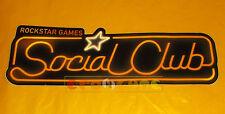 Rockstar Social Club Sticker (Sticker) CM. 5,5 x 16,5 ○○○○○ NEW
