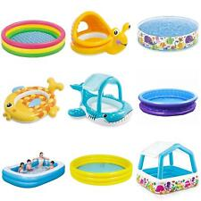 More details for kids children inflatable paddling pool set swimming outdoor garden water summer